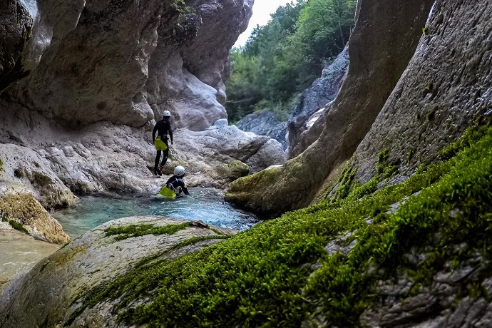 Azimut Center - Canyoning in Slovenia