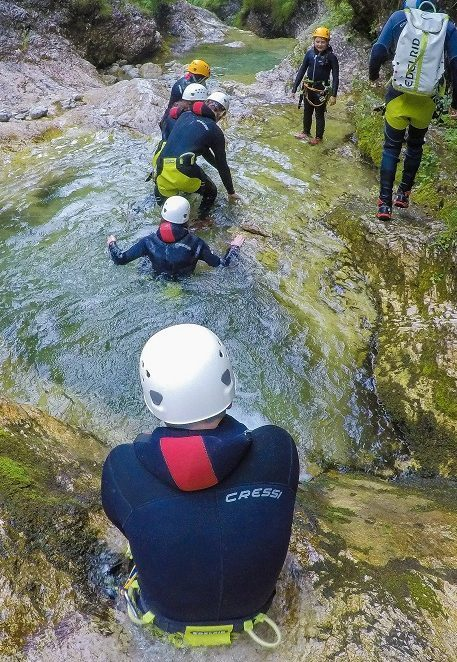 Azimut Center - Canyoning Sušec